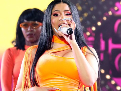 Cardi B snatches own wig right into Wireless crowd, then begs for it back it because she's Cardi B