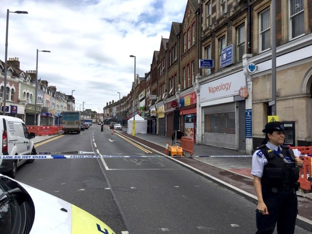 (Picture: @999London/Twitter) Police have launched a murder investigation after a man was shot dead on a busy road in London. The man believed to be in his late 20s is the second person to be fatally shot in the capital this weekend. Armed officers and emergency services rushed to the scene on Lea Bridge Road in Leyton around 3am on Sunday. Paramedics battled to save his life, but he was sadly pronounced dead at the scene.
