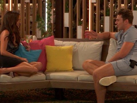 What happened on last night's Love Island? Maura Higgins finally tells Curtis Pritchard how she really feels
