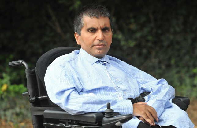 Severely disabled Quamer Khaliq was abandoned on board a Thomas Cook Airlines jet for more than two hours after it had landed at Manchester Airport because of a cock up over special assistance that had apparently been booked for him The cabin crew stayed for a bit and left as did cleaners and the pilot and even some trainee cabin crew.