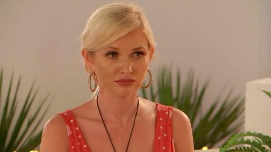 Amy Hart on Love Island