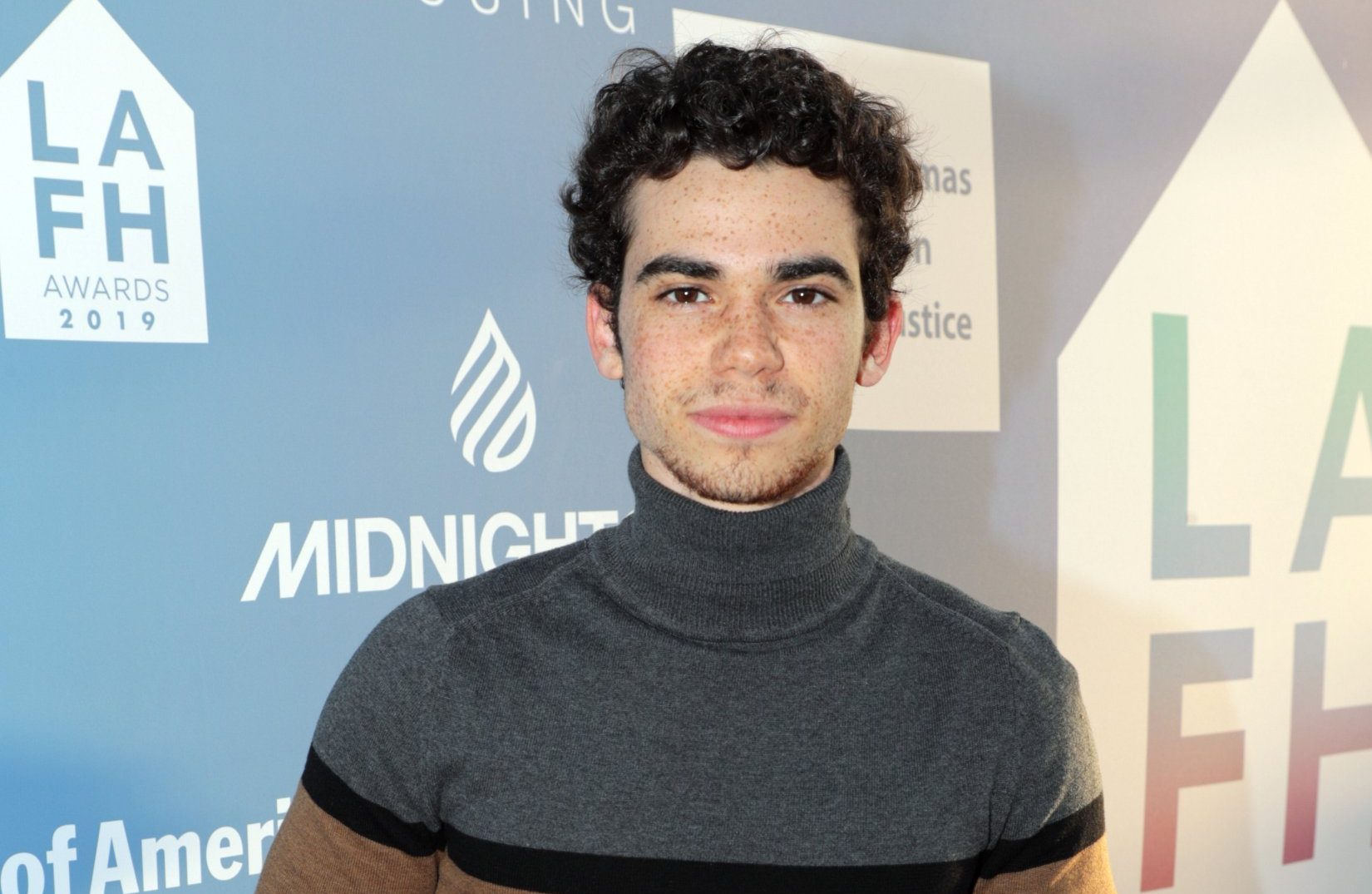Mandatory Credit: Photo by Eric Charbonneau/REX/Shutterstock (10219076a) Cameron Boyce LAFH Awards 2019, Los Angeles, USA - 25 Apr 2019