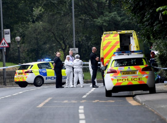Salford murder: Body found wrapped in plastic in remote