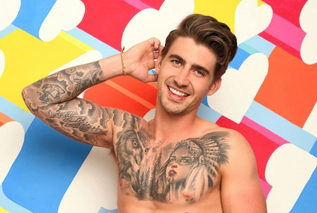 Love Island 2019 newcomer Chris Taylor