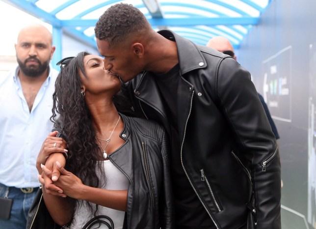 Love Island's Jourdan Riane and Danny Williams Land back in the UK