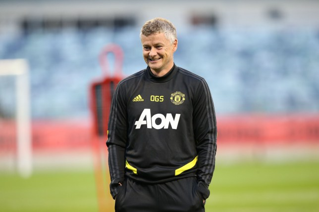 PERTH, AUSTRALIA - JULY 09: (EXCLUSIVE COVERAGE) Manager Ole Gunnar Solskjaer of Manchester United in action during a first team training session as part of their pre-season tour of Australia, Singapore and China on July 09, 2019 in Perth, Australia. (Photo by John Peters/Manchester United via Getty Images)