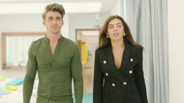 Love Island's Francesca Allen and Chris Taylor
