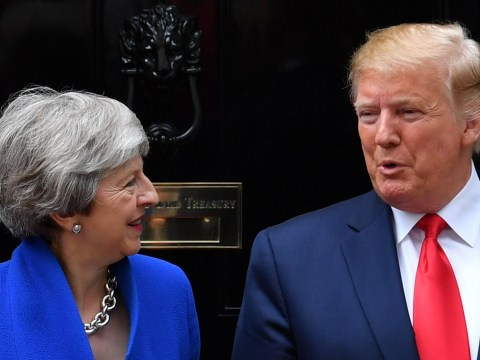 Theresa May lashes out at Donald Trump during final days in office