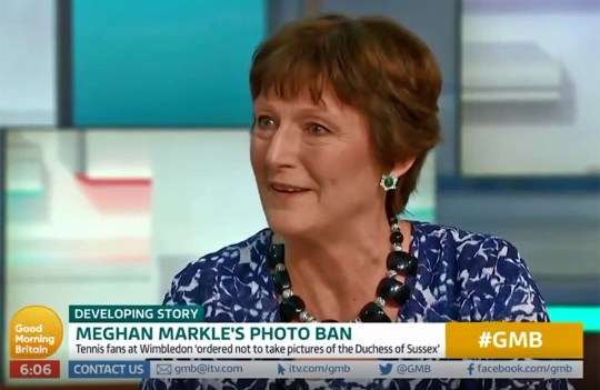 Sally Jones at Good Morning Britain