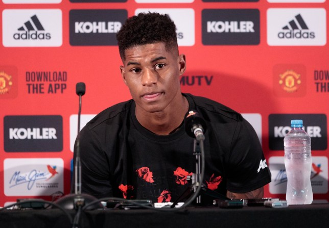 Marcus Rashford is positive about the new season
