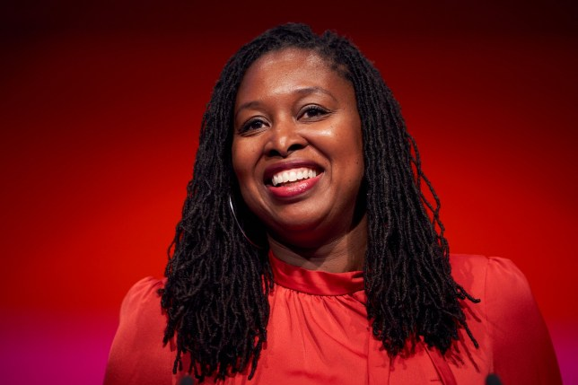 Dawn Butler Labour MP and shadow women and equalities secretary