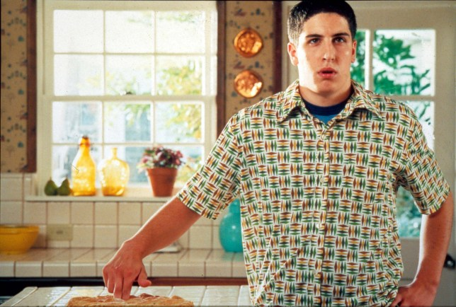 Editorial use only. No book cover usage. Mandatory Credit: Photo by Moviestore/REX (1556734a) American Pie, Jason Biggs Film and Television