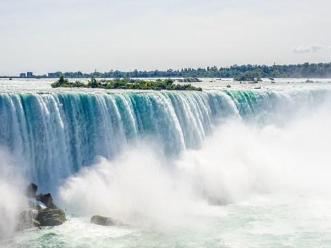 Man survives 188ft drop over Niagara Falls