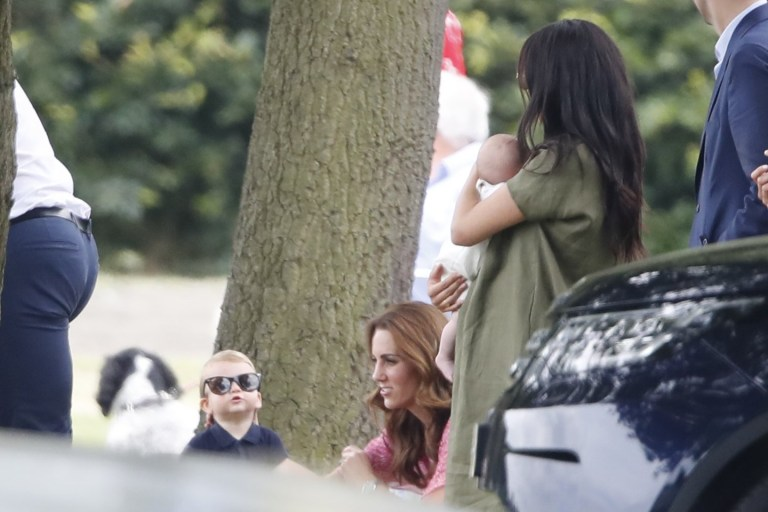 Meghan Markle takes Archie on day out with George, Charlotte