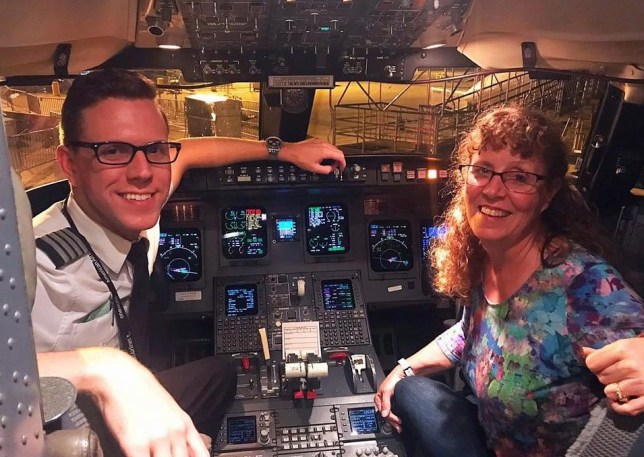 Pilot flies his mum on plane - Ryan McCormick is with Mary McCormick.