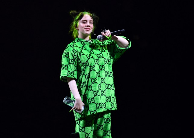 LOS ANGELES, CALIFORNIA - JULY 11: Singer Billie Eilish performs onstage at The Greek Theatre on July 11, 2019 in Los Angeles, California. (Photo by Scott Dudelson/Getty Images)