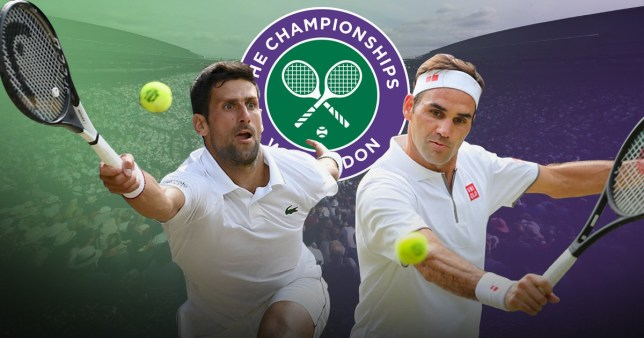 Wimbledon - Djokovic vs Federer