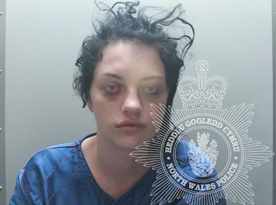 A woman high on cocaine burst into a shop brandishing a knife and threatening to stab her ex-boyfriend while terrified shoppers looked on in horror.Mum of two Laura Nicholas stormed into the Co-Op in pursuit of former partner Paul Loose.