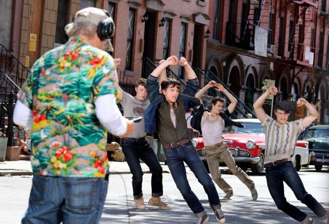 Steven Spielberg directs West Side Story