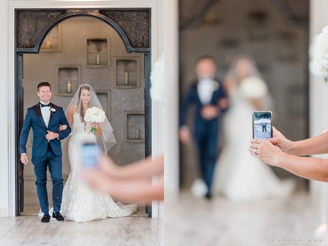 Wedding photographer slams guests who get in the way by taking pictures with their phones