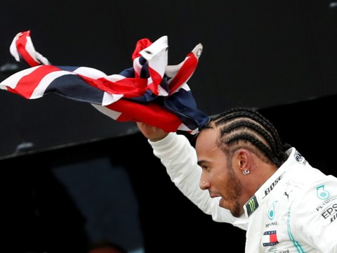 Lewis Hamilton wins a record sixth British Grand Prix at Silverstone