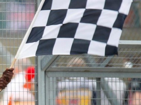 Stormzy thrilled to wave chequered flag as Lewis Hamilton wins record 6th British Grand Prix