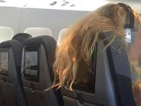 'Incredibly selfish' woman slammed for hanging hair over passenger's TV screen on plane