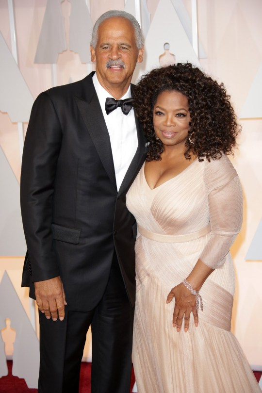 Mandatory Credit: Photo by Jim Smeal/BEI/REX (4448556qz) Stedman Graham and Oprah Winfrey 87th Academy Awards, Oscars, Arrivals, Los Angeles, America - 22 Feb 2015
