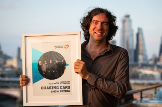 Snow Patrol's Chasing Cars named most played song of 21st Century