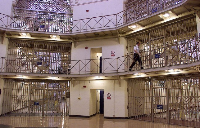 "File photo dated 30/03/00 of a prison officer in a prison, as thousands of serial offenders with more than 50 previous convictions were spared jail last year, according to a new report which calls for a review of sentencing. PRESS ASSOCIATION Photo. Issue date: Wednesday July 17, 2019. Centre-right think tank Onward found the number of ""super-prolific"" criminals in England and Wales who were convicted but not sent to prison tripled from 1,299 in 2007 to 3,916 in 2018. See PA story POLITICS Sentencing. Photo credit should read: Phil Noble/PA Wire"
