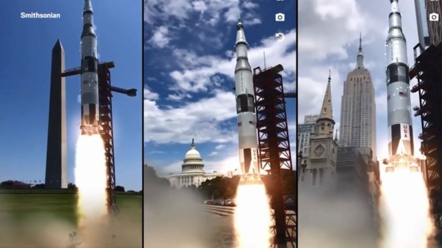Apollo 11: Augmented Reality app lets you experience the moon landing The Augmented Reality App That Lets You Experience the Moon Landing Tied to a new series from the Smithsonian Channel, the app is the closest you can get to being on the moon without time-traveling to 1969