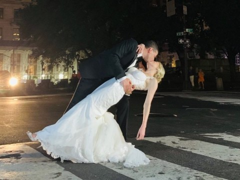Couple due to marry at Plaza Hotel have to improvise after New York power shortage