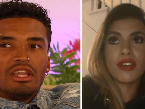 Love Island's Joanna Chimonides shuts down Michael Griffiths for calling her 'standoffish'