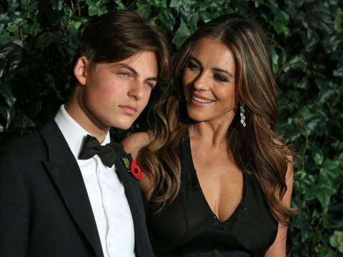 Liz Hurley's son Damian, 17, wins legal battle against grandfather over his inheritance