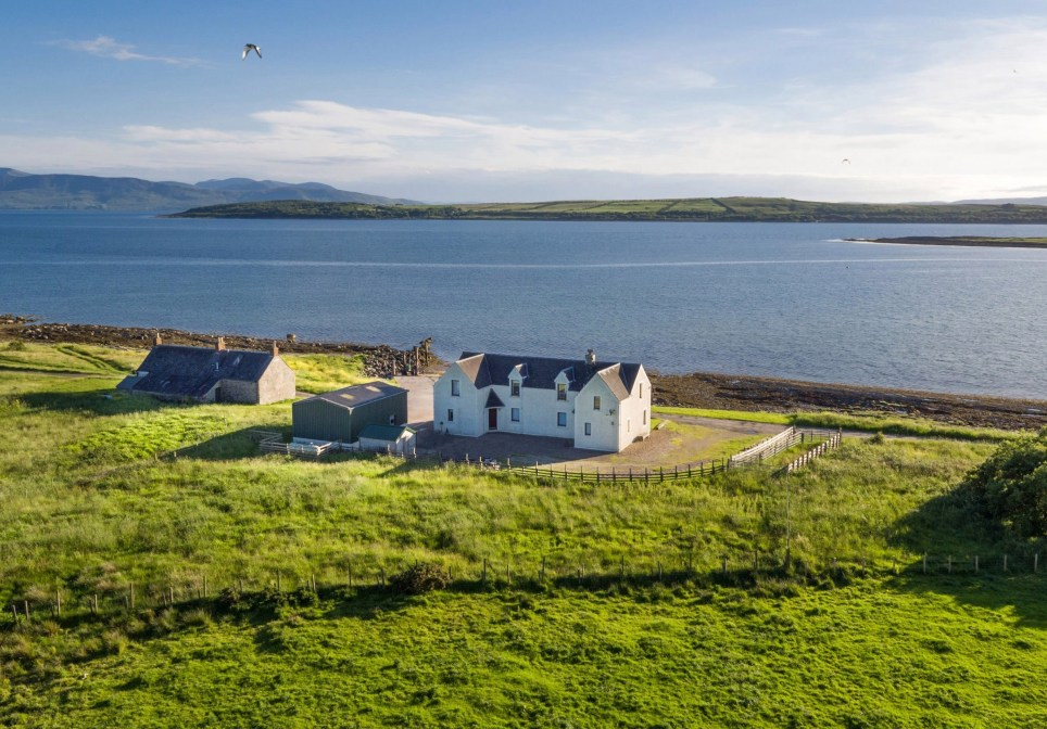 Inchmarnock is an uninhabited island in Scotland on sale for £1.4million
