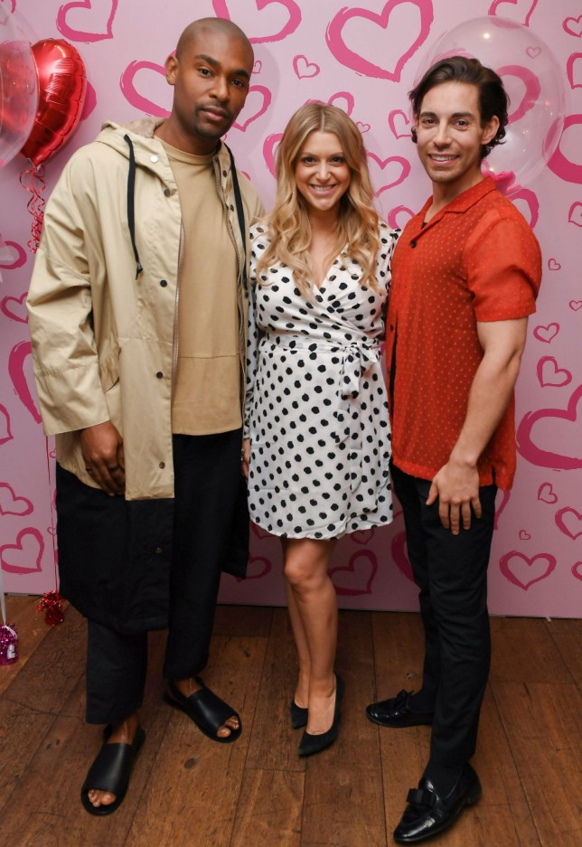 Mandatory Credit: Photo by Beretta/Sims/REX (10341550bd) Paul Brunson, Anna Williamson, Tom Read Wilson 'Celebs Go Dating' TV show press event, London, UK - 19 Jul 2019