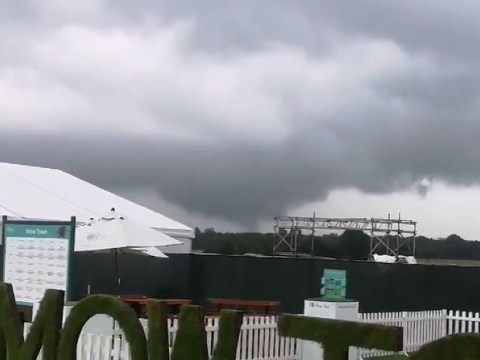 Tornado hits Manchester damaging cars and buildings
