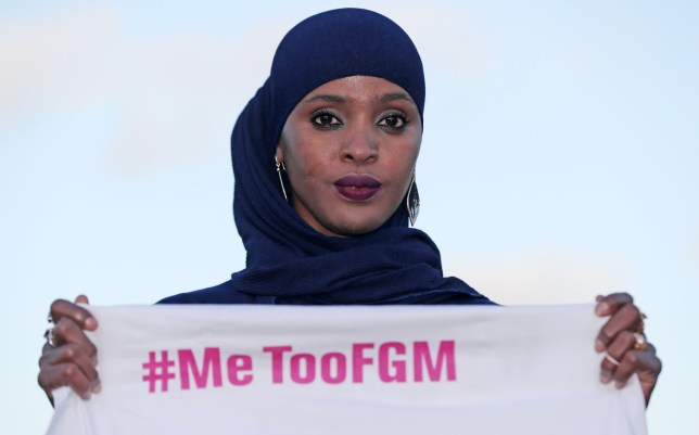 Ifrah Ahmed launches #MeTooFGM, a worldwide social media campaign against female genital mutilation (FGM), in Dublin city centre. Ms Ahmed, 29, was born in Somalia and survived the barbaric practice.