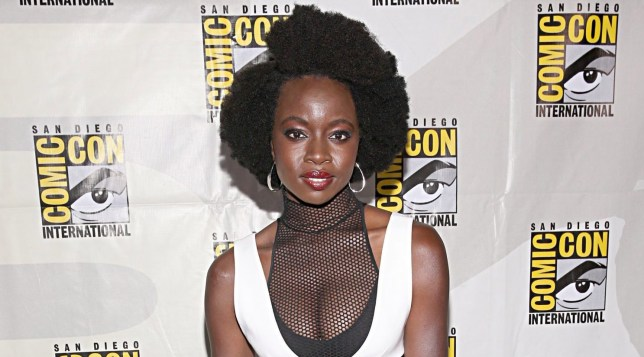 Danai Gurira at San Diego Comic Con