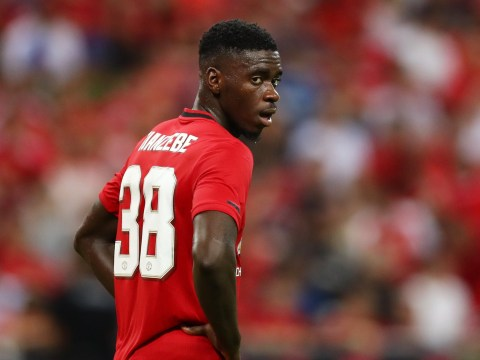Ole Gunnar Solskjaer says Axel Tuanzebe is the future of Manchester United