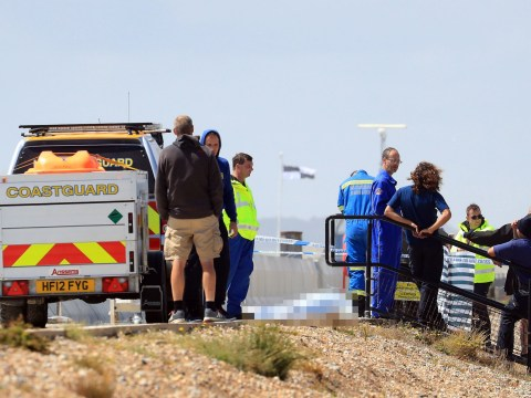 'Kitesurfer' dies after falling onto beach wall in 'tragic accident'