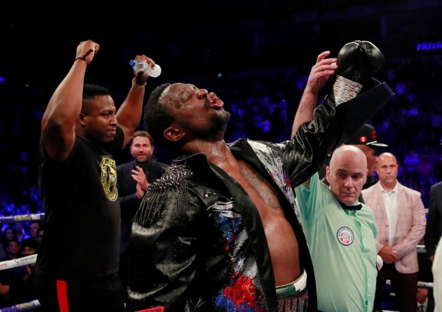 Dillian Whyte beat Oscar Rivas at the 02 Centre on points last Saturday