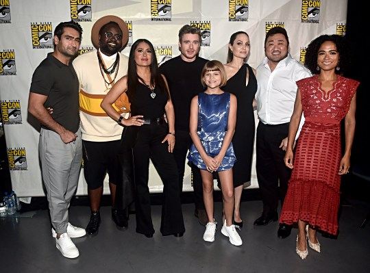 Image result for the eternals comic con