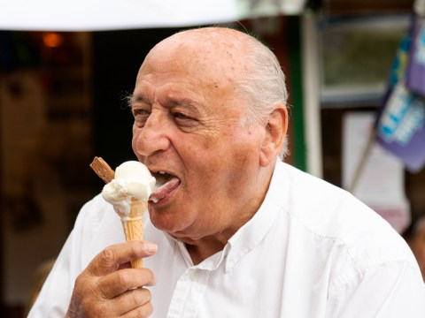 86-year-old man celebrates 70 years of serving ice cream – and says best flavour is vanilla
