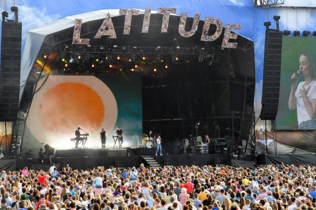 SOUTHWOLD, ENGLAND - JULY 21: Sigrid performs on stage during Latitude Festival 2019 at Henham Park on July 21, 2019 in Southwold, England. (Photo by Dave J Hogan/Getty Images)