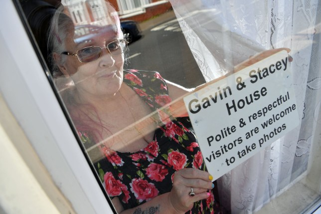 A look inside the Gavin and Stacey house, Triniity street, Barry, which is owned by Glenda Kenyon (pictured). pic Rob Browne
