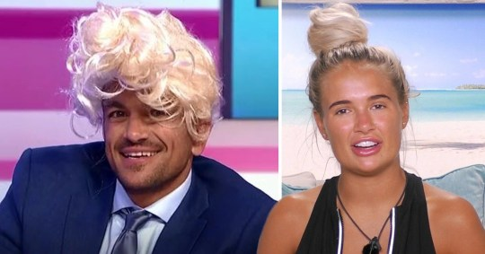 Peter andre and Love Island's Molly-Mae Hague