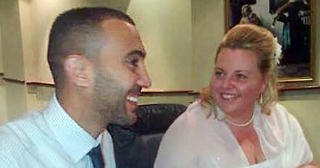 Charisse O'Leary when she married London Bridge attacker Rachid Redouane in 2012 (
