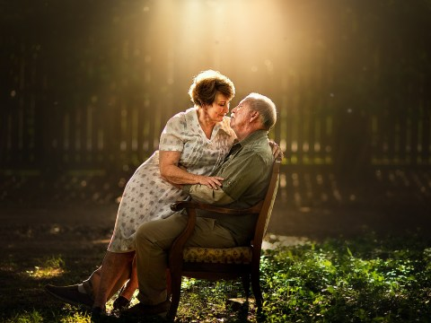The love between elderly couples is captured in these beautiful photographs
