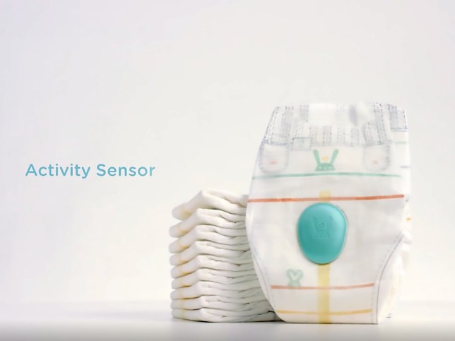 Picture: Pampers Pampers has invented the 'smart nappy'